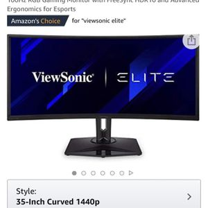 Curved Gaming Monitor (XG350R-C) for Sale in Menifee, CA