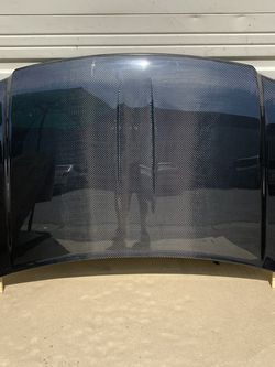 2004 - 2007 Dodge Durango 4DR OEM Style Carbon Fiber Hood (V#424-1/2) for Sale in Walnut,  CA