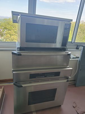 Dacor - 3 - Piece Stainless Steel Wall Oven, Microwave & Warming Drawer for Sale in Verona, NJ