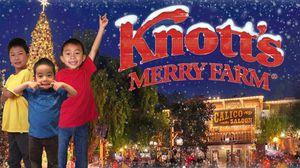 Knott's Merry Farm Child Ticket 11/28 (Saturday) - Tasting Event @ Knott's Berry Farm for Sale in Irvine, CA