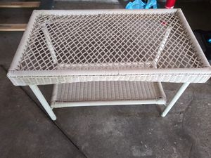 Rattan patio table for Sale in Medina, OH