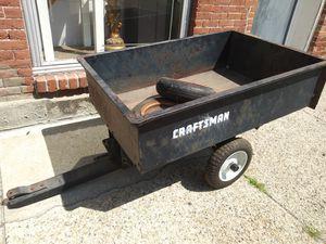 Craftsman 10 Cu Ft Dump Cart for Sale in Blackstone, MA