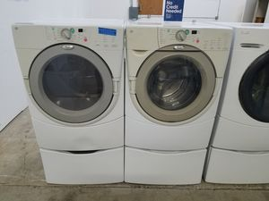 WHIRLPOOL DUET WASHER AND ELECTRIC DRYER SET for Sale in Modesto, CA