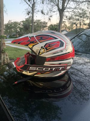 Youth BMX helmet with goggles for Sale in FL, US