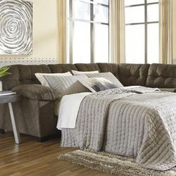 🔵Accrington Earth RAF Queen Sleeper Sectional🔵🔺39 DOWN 🔻 for Sale in Austin,  TX