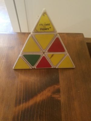Vintage Pyraminx by Tomy 1981 Pyramid Puzzle RUBIK'S CUBE STYLE GAME for Sale in NJ, US