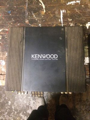 Kenwood Kac-742 and xtant 202m for Sale in Portland, OR
