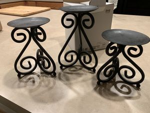 Candle holders/plant stands for Sale in Gaithersburg, MD