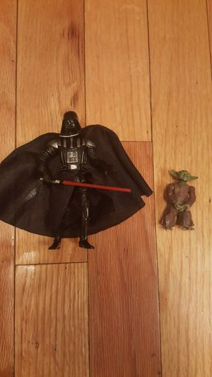 Darth Vader 30th Anniversary Action Figure + Yoda for Sale in Denver, CO