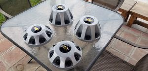 """17 """" Chevy dually wheel caps for Sale in Downey, CA"""