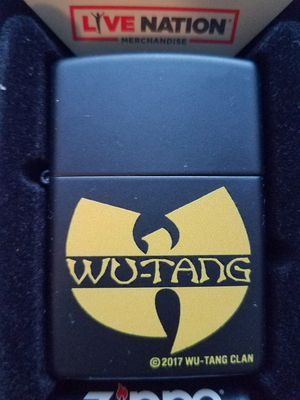 Zippo wu tang clan black matte 29711 for Sale in Los Angeles, CA