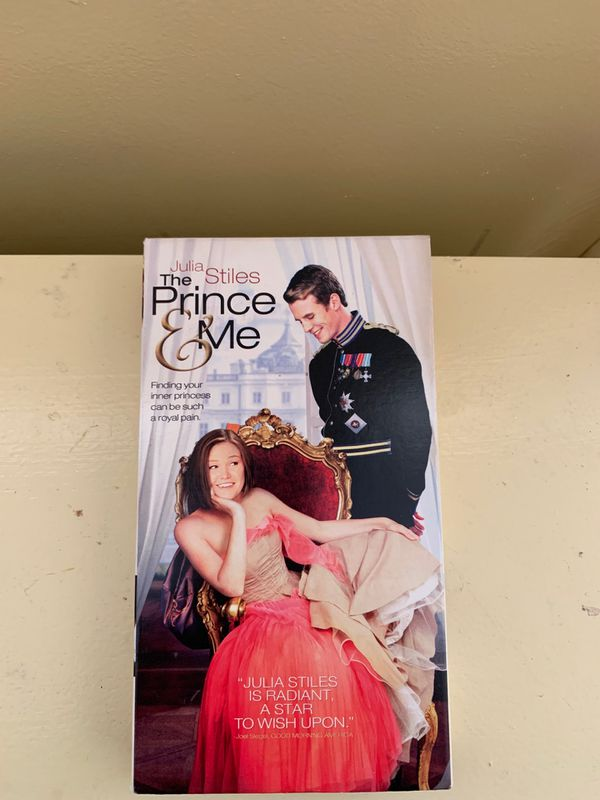 The Prince & Me Video Tape