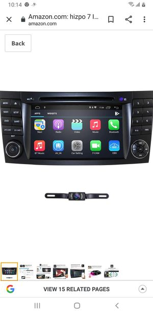 Android system car uograde for Mercedes-Benz E-Class W211 CLS W219 G-Class W463 CLS 350 CLS 500 CLS 55 for Sale in Essex, MD