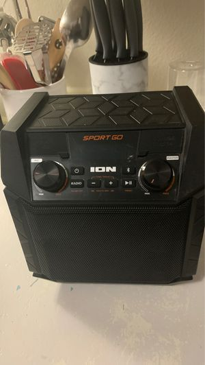 I on sports go speaker Bluetooth 50 firm on price for Sale in San Antonio, TX