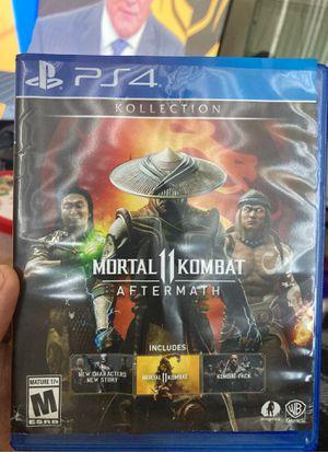 Mortal Kombat 11 ps4 for Sale in Fort Washington, MD