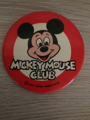 Vintage 1970's Walt Disney Productions Mickey Mouse Club Pin for Sale in San Jose, CA