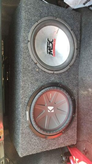 Two 12 Subwoofers for Sale in Farmville, VA