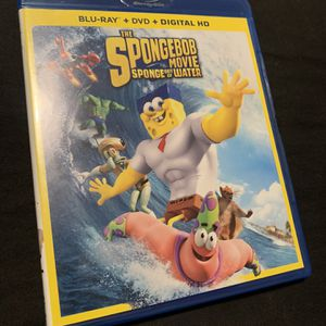 Sponge out of Water Blu Ray for Sale in Los Angeles, CA