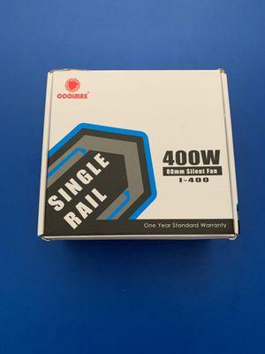 Single Rail 400 watt 80mm silent fan I-400 for Sale in Lake Park, FL