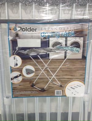 Expandable Drying Rack Tendedero Casa Extensible Polder for Sale in Miami, FL