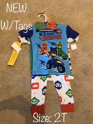 NEW W/TAGS Pj Mask 4 piece pajama set for Sale in Chula Vista, CA