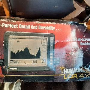 Humming Bird ,Depth, Fish Finder With Transom for Sale in Monroe Township, NJ