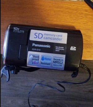 Panasonic SD card Camcorder for Sale in Annandale, VA