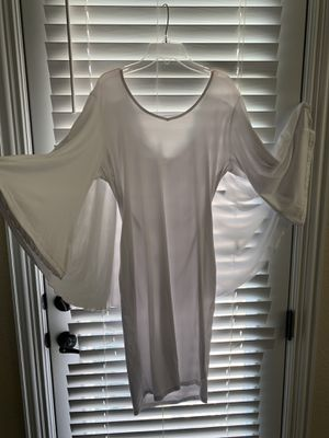 White Cape dress XL. Brand new for Sale in Buda, TX