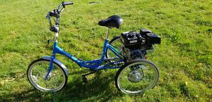 Tricycle bike motorized for Sale in Portland, OR