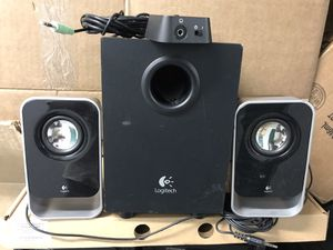 Logitech LS21 2.1 Stereo Speaker System for Sale in Lanham, MD