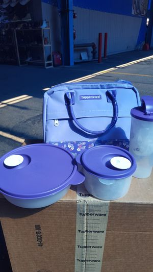New Tupperware lunch set 4 piece for $50.00 for Sale in Phoenix, AZ
