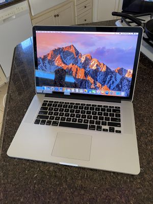 2015/16 MacBook Pro 15 inch 2.8 i7 16GB 512GB 2GB Video card for Sale in Los Angeles, CA