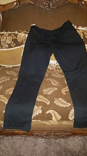 38x32 black dry cleaned only Levi's great shape lost weight for Sale in Cleveland, OH