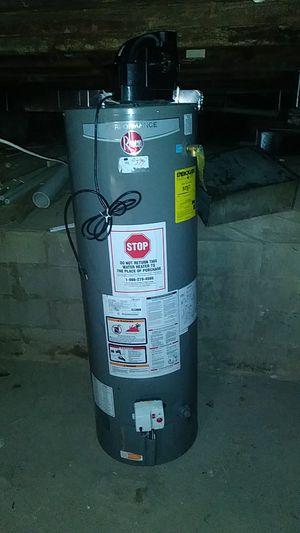 Rheem 40 gallon powervent for Sale in Baltimore, MD