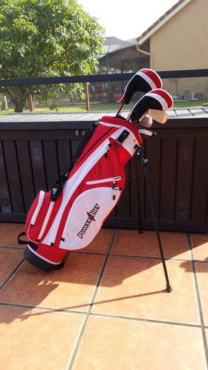 "Powerbilt Lil Slugger RH Complete Golf Set w/Bag Age 9-12, 52"" to 60"" Height for Sale in Pembroke Pines, FL"