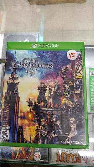 Kingdom hearts 3 xbox one for Sale in TEMPLE TERR, FL