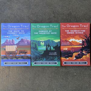 The Oregon Trail Book Set 1-3 / USED for Sale in Rancho Dominguez, CA