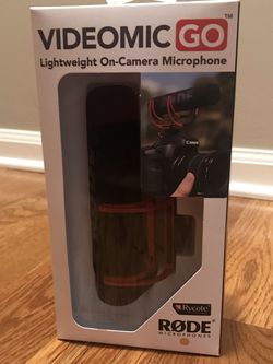 Videomic Go Lightweight On-Camera Microphone New for Sale in Mount Prospect,  IL