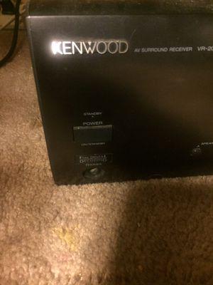 Kenwood av surround receiver VR-208 for Sale in Scottsdale, AZ