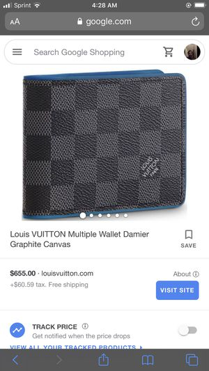 Real louis wallet all black still new for Sale in Nashville, TN