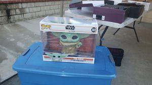 Disney starwars the child yoda 10in pop new for Sale in Fontana, CA