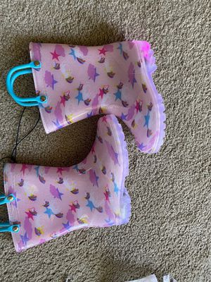 Toddler Boy Girl Rain Boots with Light,Kids Shining Shoes with Mem. for Sale in Denver, CO