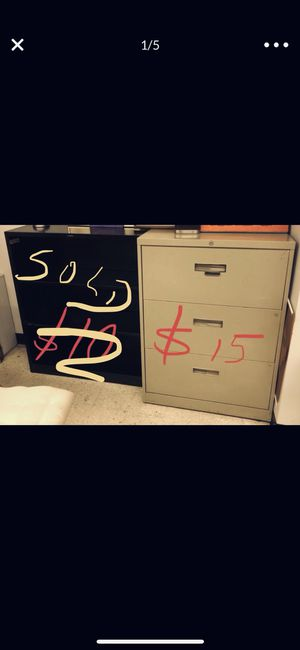 Metal - very high quality file cabinets for Sale in Chicago, IL