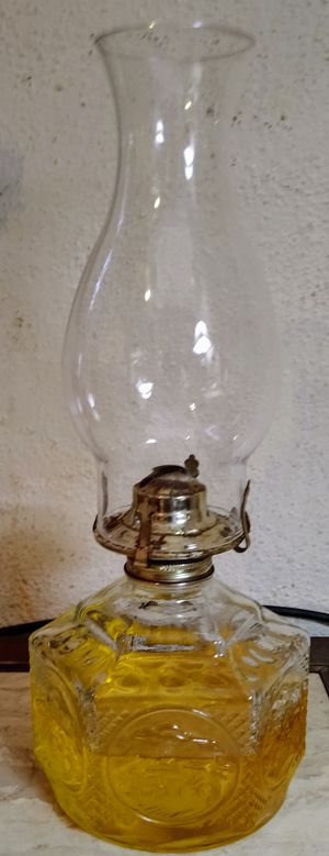 Set of 2 Lighthouse oil lamps for Sale in Peoria, IL