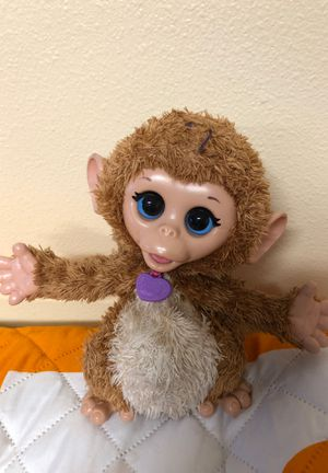 Furreal friends monkey for Sale in New Smyrna Beach, FL