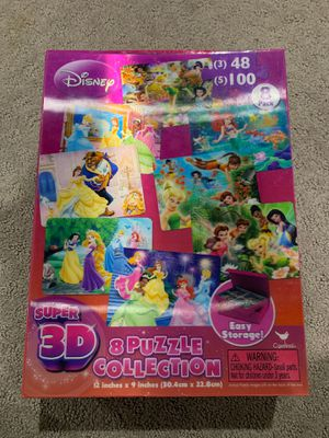 8 3D puzzle collection Disney for Sale in Alexandria, VA