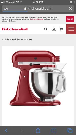 Red kitchen aid brand new in box for Sale in Mesa, AZ