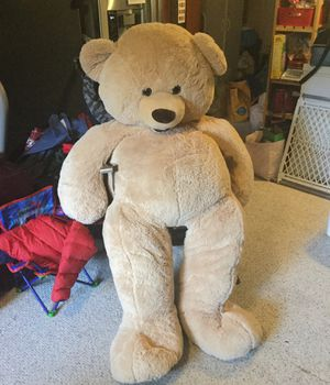 Jumbo Stuffed Teddy Bear for Sale in Bothell, WA