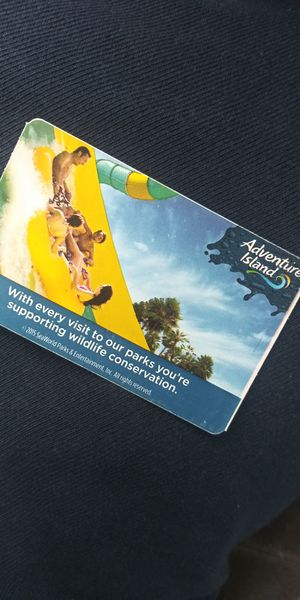 Adventure Island tickets for Sale in Tampa, FL