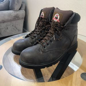 Men's Steel Toe boots Size 12 for Sale in Grand Prairie, TX